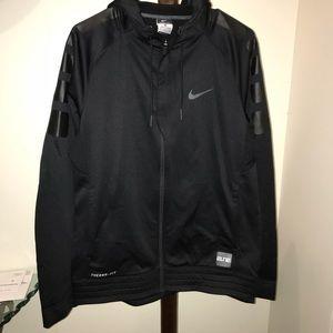 Nike thermos fit zip up hoodie